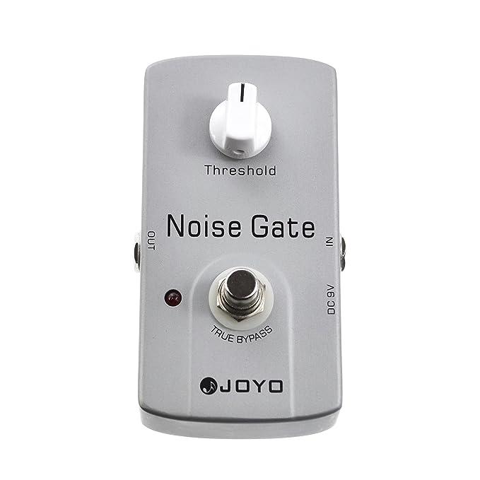 JOYO JF-31 - Pedal multiefecto para guitarra (puerta de ruido, batería zinc carbono): Amazon.es: Instrumentos musicales