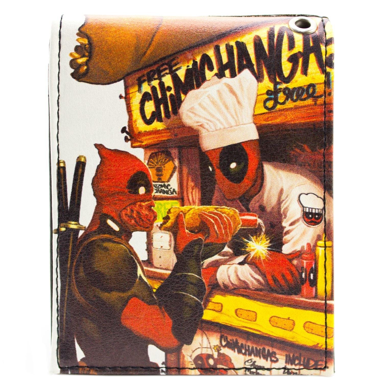 Marvel Deadpool Dynamite Hot Dog Blanc Portefeuille 28360