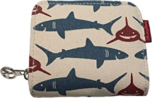 Bungalow 360 Billfold Vegan Wallet (SHARK)