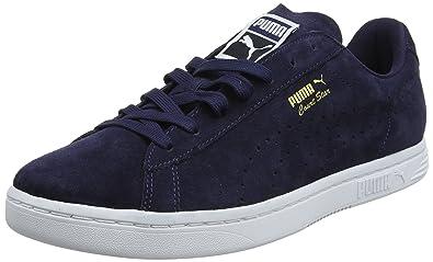 Puma Unisex-Erwachsene Court Star Suede Sneaker, Blau (Peacoat), 36 EU