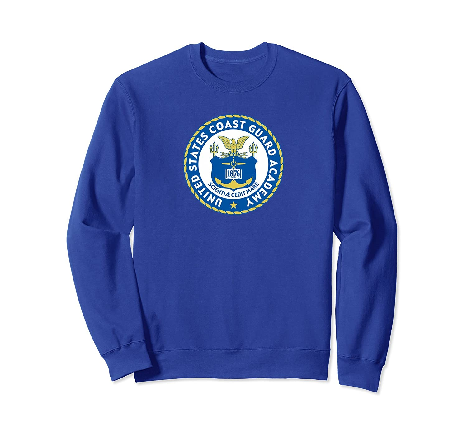 COAST GUARD ACADEMY SHIELD SWEATSHIRT-fa
