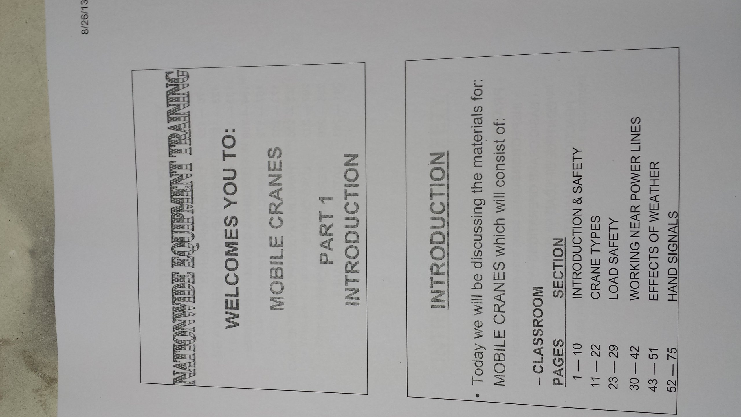 MOBILE CRANE OPERATOR STUDY MATERIAL: DON CHILDERS: 9780615931715:  Amazon.com: Books