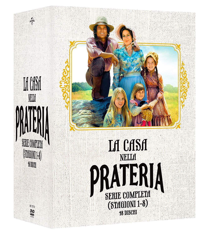 Amazon.it | La Casa Nella Prateria – Collezione Completa Stagioni 1-8 (Box  Set) (48 DVD): Acquista in DVD e Blu ray