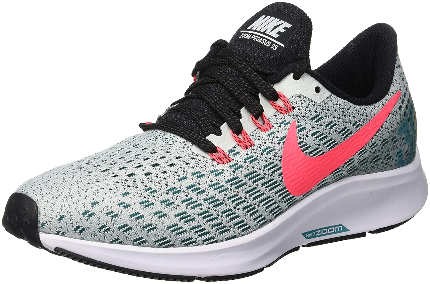 MultiCouleure (Barely gris Hot Punch Geode Teal noir 009) Nike - Air Zoom Pegasus 35 - Chaussures - Femme 35.5 EU