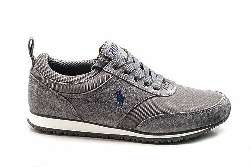Ralph Lauren Polo Zapato Zapatillas Hombre Gris Art. A85 y2080 ...