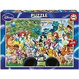 Puzzles Educa - Puzzle con diseño El Maravilloso Mundo De Disney II, 1000 piezas (16297)