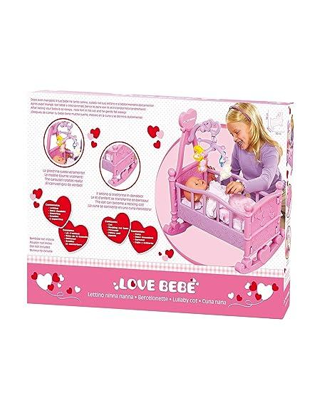 Dondolo 2 Posti Lullaby.Love Bebe Lettino Per Bambola Rdf50400 Amazon It Giochi E Giocattoli