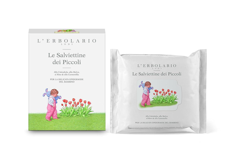 L'Erbolario Baby- und Kinderpflege Feuchttü cher, 1er Pack (1 x 20 Stü ck) L' Erbolario 007.959