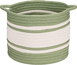 "product image for Colonial Mills Outland Basket, 14""x14""x12"", Green"