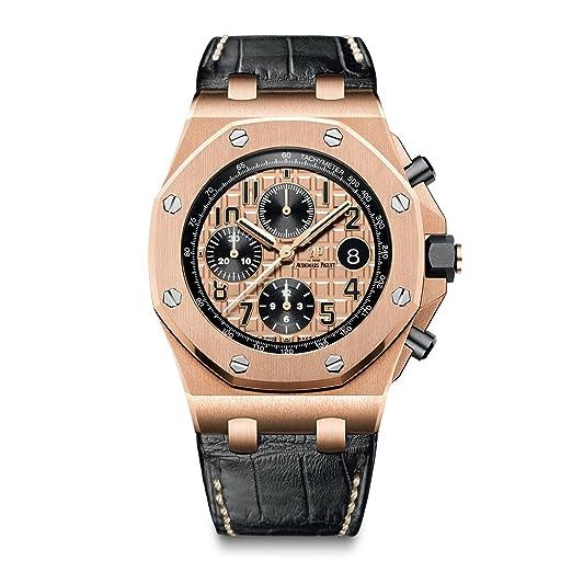 Audemars Piguet Royal Roble Offshore Cronógrafo 42 mm oro rosa 26470or. OO. a002cr. 01: Audemars Piguet: Amazon.es: Relojes
