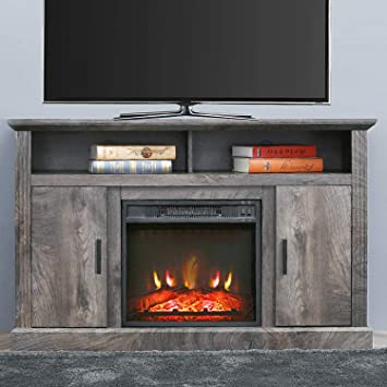Amazon Com Patiofestival Electric Fireplace Tv Stand