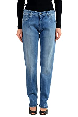 03c5b21519d Fendi Blue Straright Leg Women s Jeans Sz 30 x 34 at Amazon Women s ...