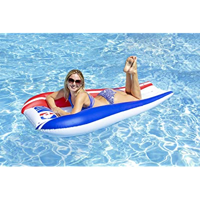 Poolmaster NBA Swimming Pool Float, Contour Mattress: Toys & Games