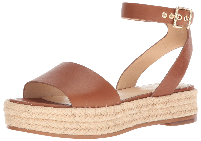 Vince Camuto Women's Kathalia Espadrille Wedge Sandal, Summer Cognac, 7.5 Medium US