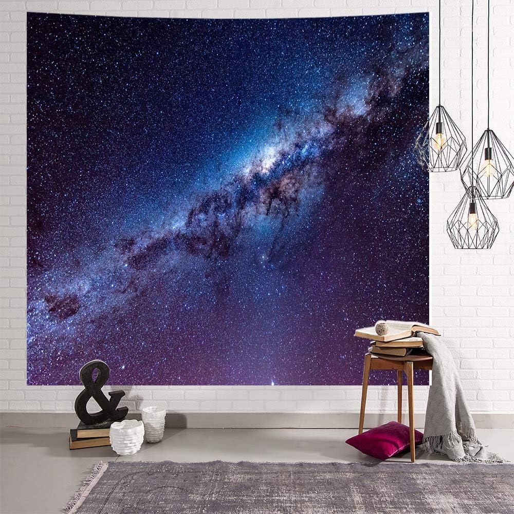 OTIAN Tapiz Psicodelico Cielo Estrellado Star Galaxy Rectángulo ...