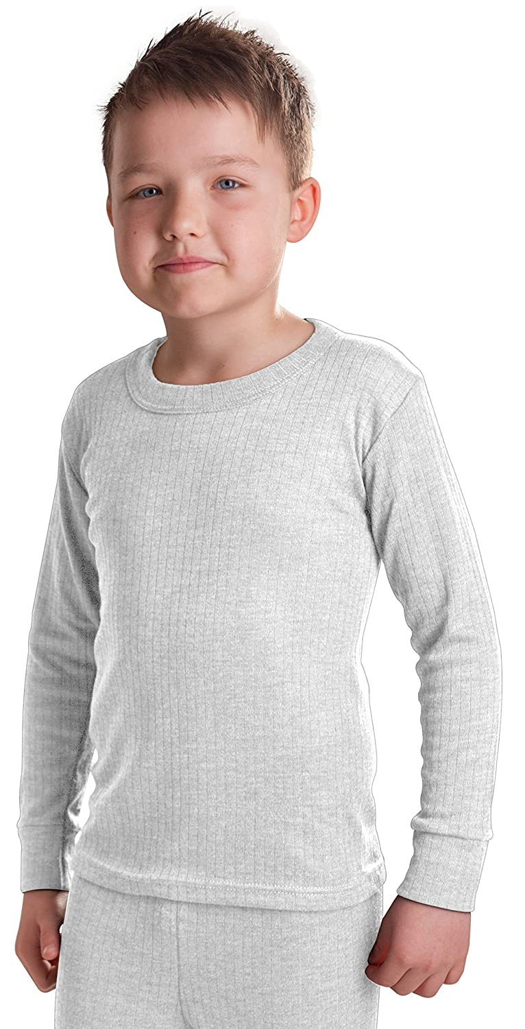 OCTAVE® British Made Boys Thermal Long Sleeved T-Shirt (Extra Warm)