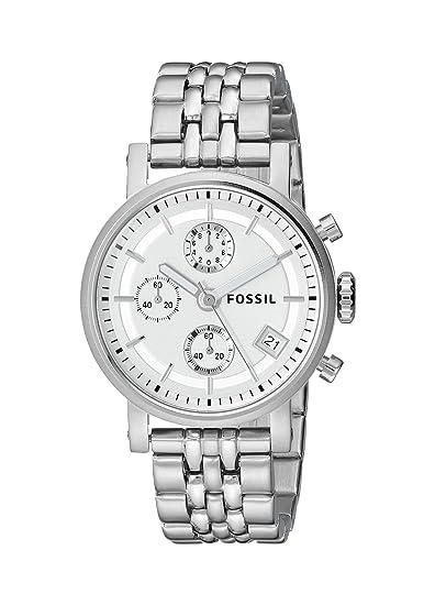 Fossil ES2198 - Reloj (Reloj de pulsera, Masculino, Acero inoxidable, Acero inoxidable