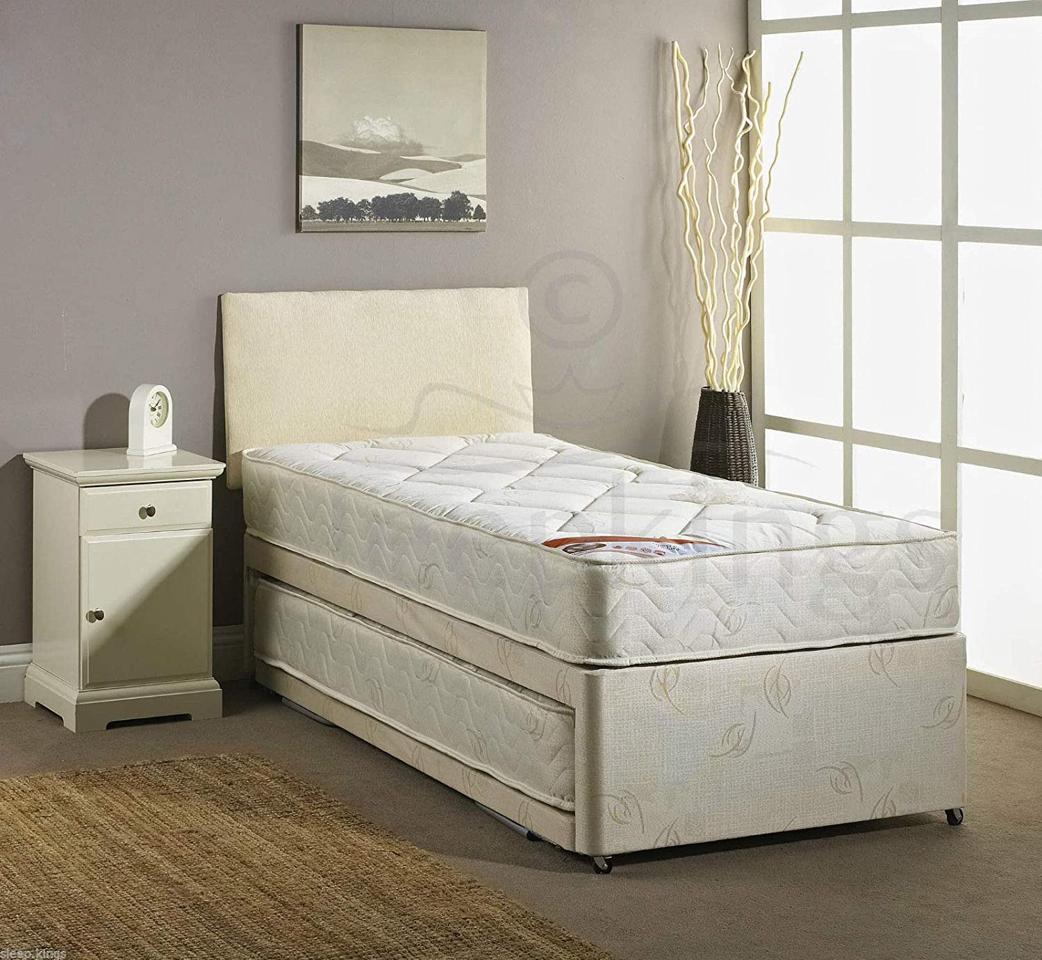 separation shoes 17fed d23c1 sleepkings 3FT SINGLE GUEST BED 3 IN 1 WITH MATTRESSES ...