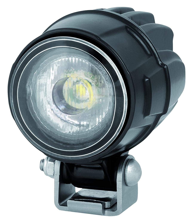 Anbau Wei/ß 12V//24V HELLA 1G0 995 050-051 Arbeitsscheinwerfer Modul 50 LED Spot f/ür Spotausleuchtung