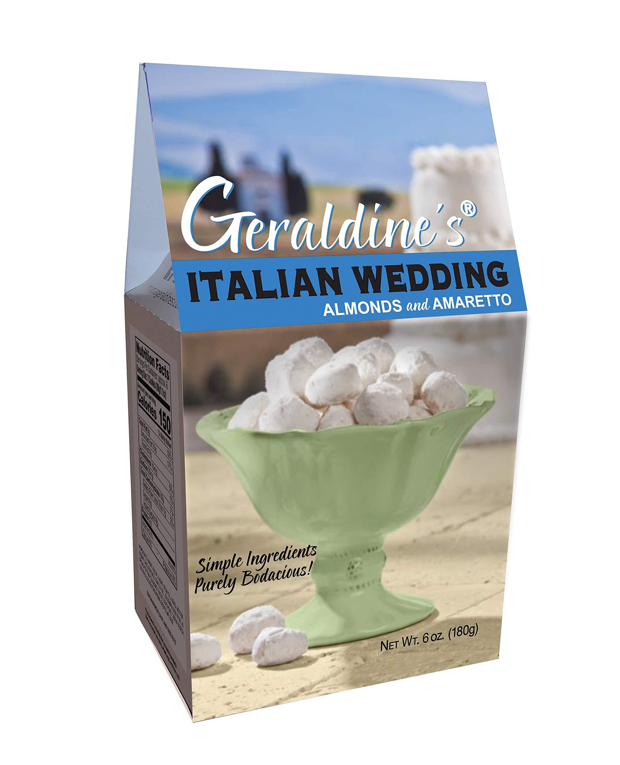 Geraldine's Italian Wedding Cookies, 6 oz (Pack of 6)