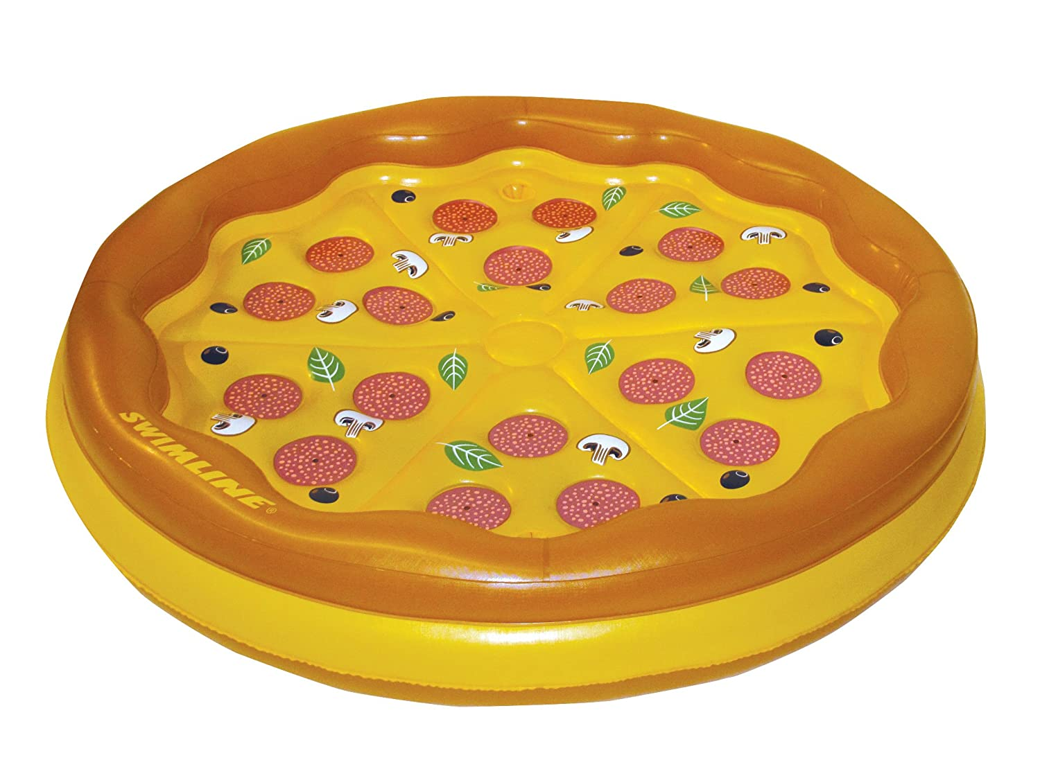 Swimline Personal Pizza Island Swimming Pool Float by Swimline