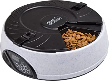 Home Intuition 6 Meal Automatic Pet Feeder among Programmable Timer