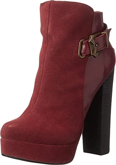 Chinese Laundry Women's Elise - Lounge Life Syrah Suede Boot 5.5 M