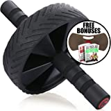 Fitnessery Ab Roller for Ab Workout - Exercise Equipment for Home Gym - Ab Wheel for Ab Crunch - Abs Wheel for Perfect Six Pack - Ab Workout Equipment to assist Sit Up Ab Machine