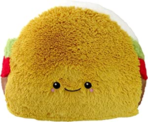 Squishable Comfort Food Taco Plush, Yellow, 15