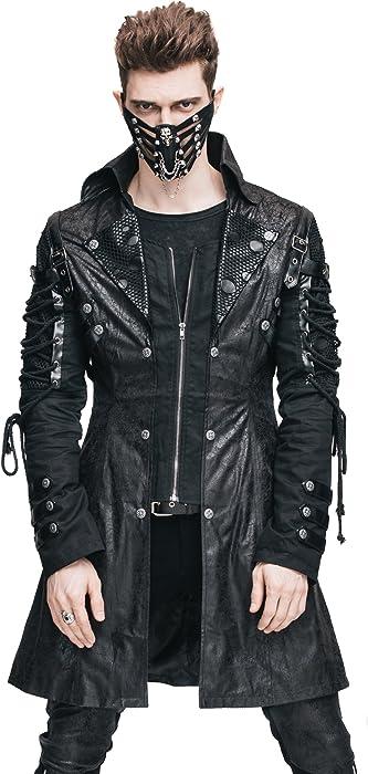 amazon com steampunk coat gothic clothing victorian cyberpunk punk