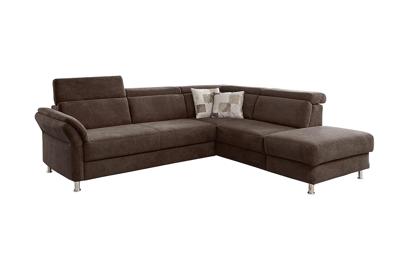 cavadore 5900984016668 polsterecke ecksofa schaumstoff espresso 269 x 228 x 81 cm online kaufen. Black Bedroom Furniture Sets. Home Design Ideas