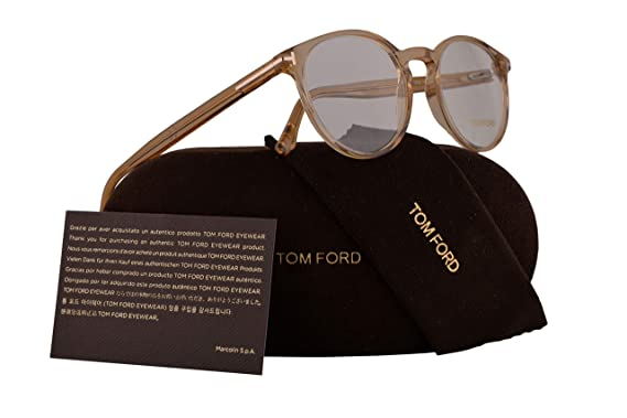 Amazon.com: Tom Ford FT5524 Eyeglasses 49-19-145 Shiny Light ...