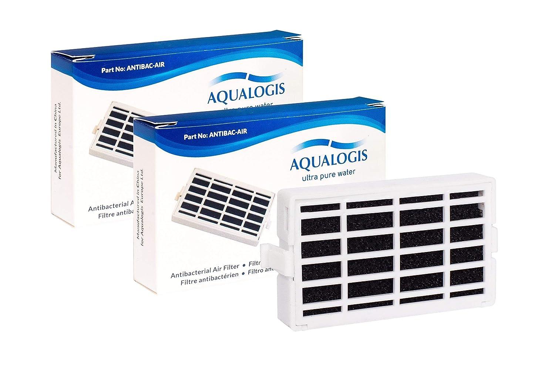 Microban ANT001 Filtro de aire antibacteriano para frigor/ífico Paquete de 4 ANT-001 481248048172 Aire sano Whirlpool ANTF-MIC