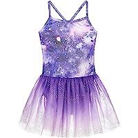 Girls Gymnastics Skirted Leotards Ballet Tutu Dance Dress Mermaid Unicorn Gymnastic Skirt(Baby Girls/Toddler Girls/Big…