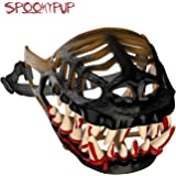SpookyPup Hilarious Dog Costume Muzzle with Large Scary Teeth – Get Your Dog to Join the Fun