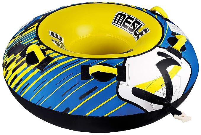 MESLE &apos Tube Ringo 54, 137 cm Donut Agua Neumáticos, Color Azul y Amarillo: Amazon.es: Deportes y aire libre
