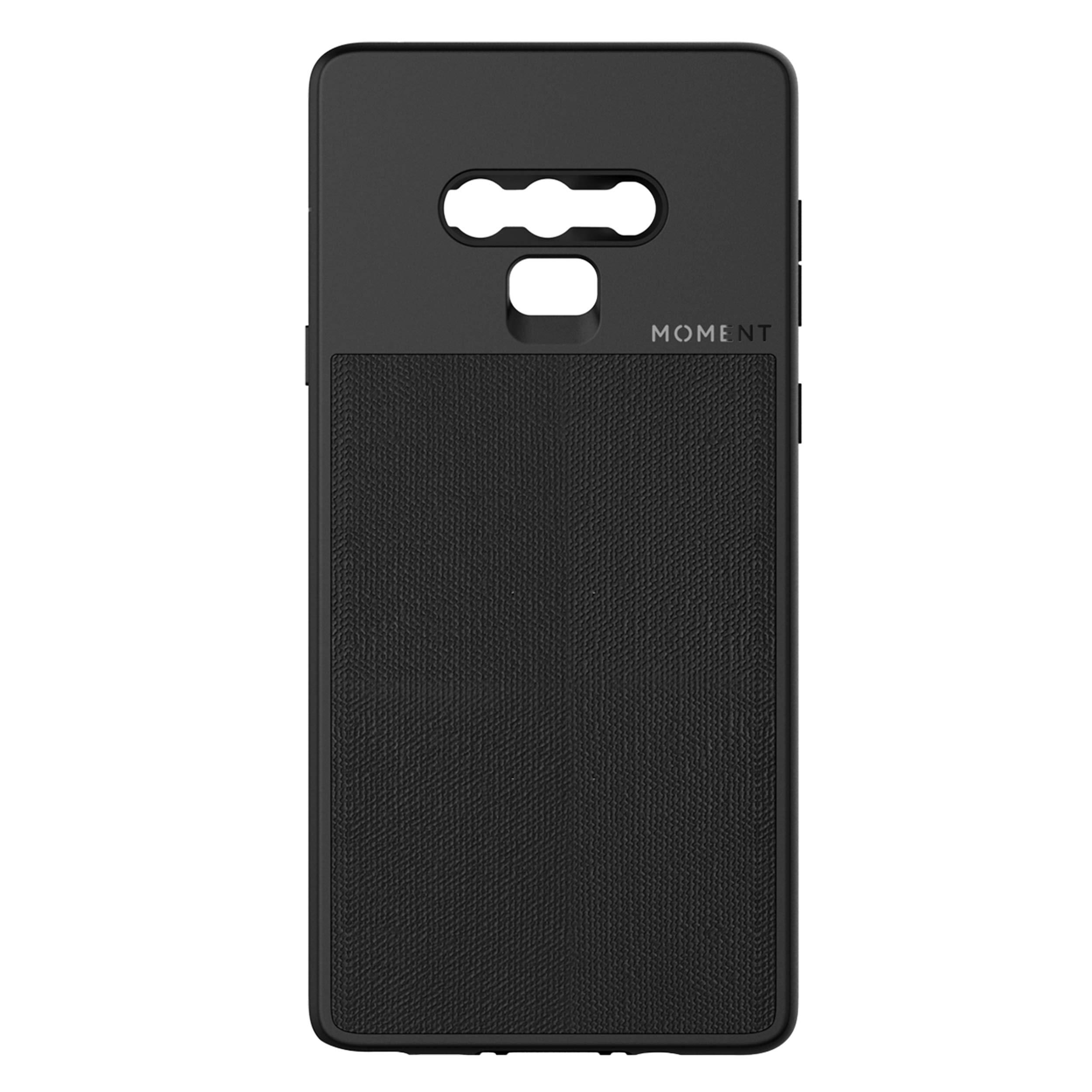 ویکالا · خرید  اصل اورجینال · خرید از آمازون · Galaxy Note 9 Case || Moment Photo Case in Black Canvas - Thin, Protective, Wrist Strap Friendly case for Camera Lovers. wekala · ویکالا