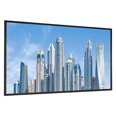 Amazon.com: AmazonBasics - Tela de pantalla para proyector ...
