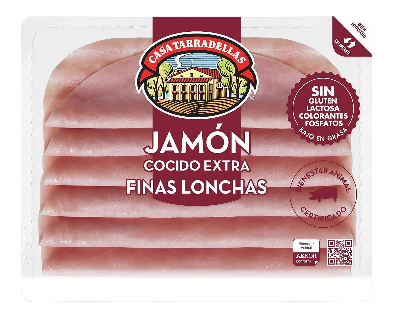 Casa Tarradellas Jamón Cocido Natural - 150 gr: Amazon.es ...