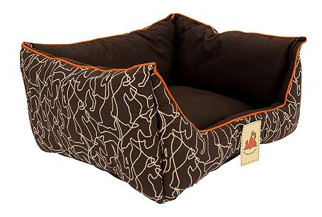 Amazon.com: D&S HORSON - Sofá rectangular acolchado para ...
