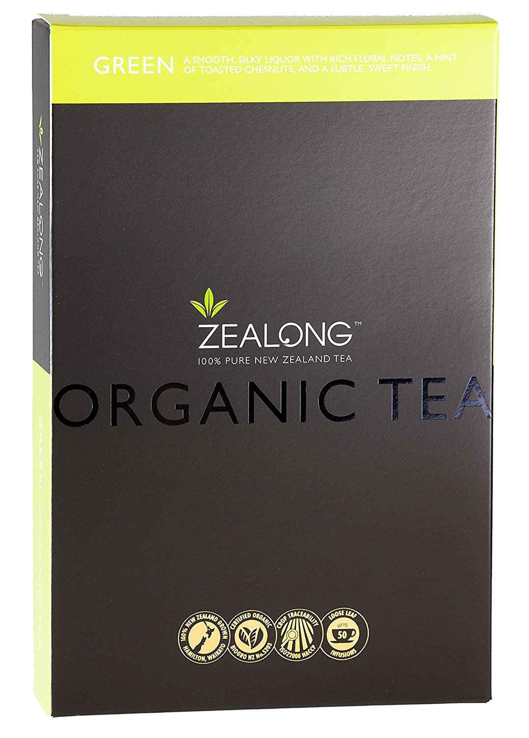 New zealand brands of tea - Loose Leaf Green Tea Lu Cha Organic New Zealand Luxury Tea By Zealong