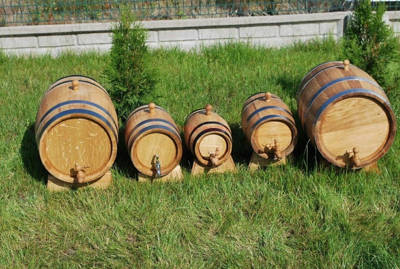 OAK BARREL 5L Wooden Barrel for storage or aging wine & spirits Oak Barrels Direct