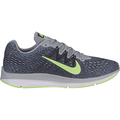 9a3f2c0ca0298 Nike Men s Air Zoom Winflo 5 Running Shoe Wolf Grey Lime Blast-Anthracite-