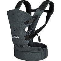 JooBebe Babybärare 4-i-1, bomull, ergonomisk och bekväm anpassad till ditt barns odling, för nyfödda och småbarn 4 till…