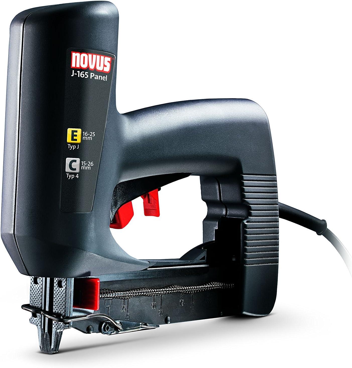 Novus 031-0324 Grapadora eléctrica J 165 EC: Amazon.es: Bricolaje ...