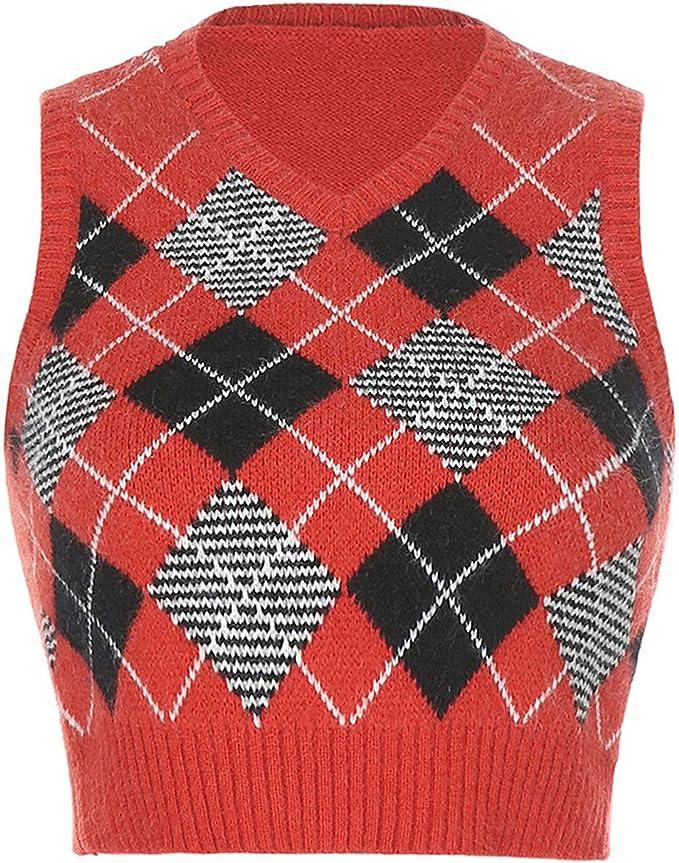 vintage vest  y2k vest  sweater vest  butterfly sweater  palms sweater  printed vest  sequins vest  printed pullover  big size L
