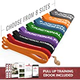 Rubberbanditz Functional Fitness Pull Up Assistance Resistance Band #2 - for 20-35 lbs of Resistance for Mobility, Stretching