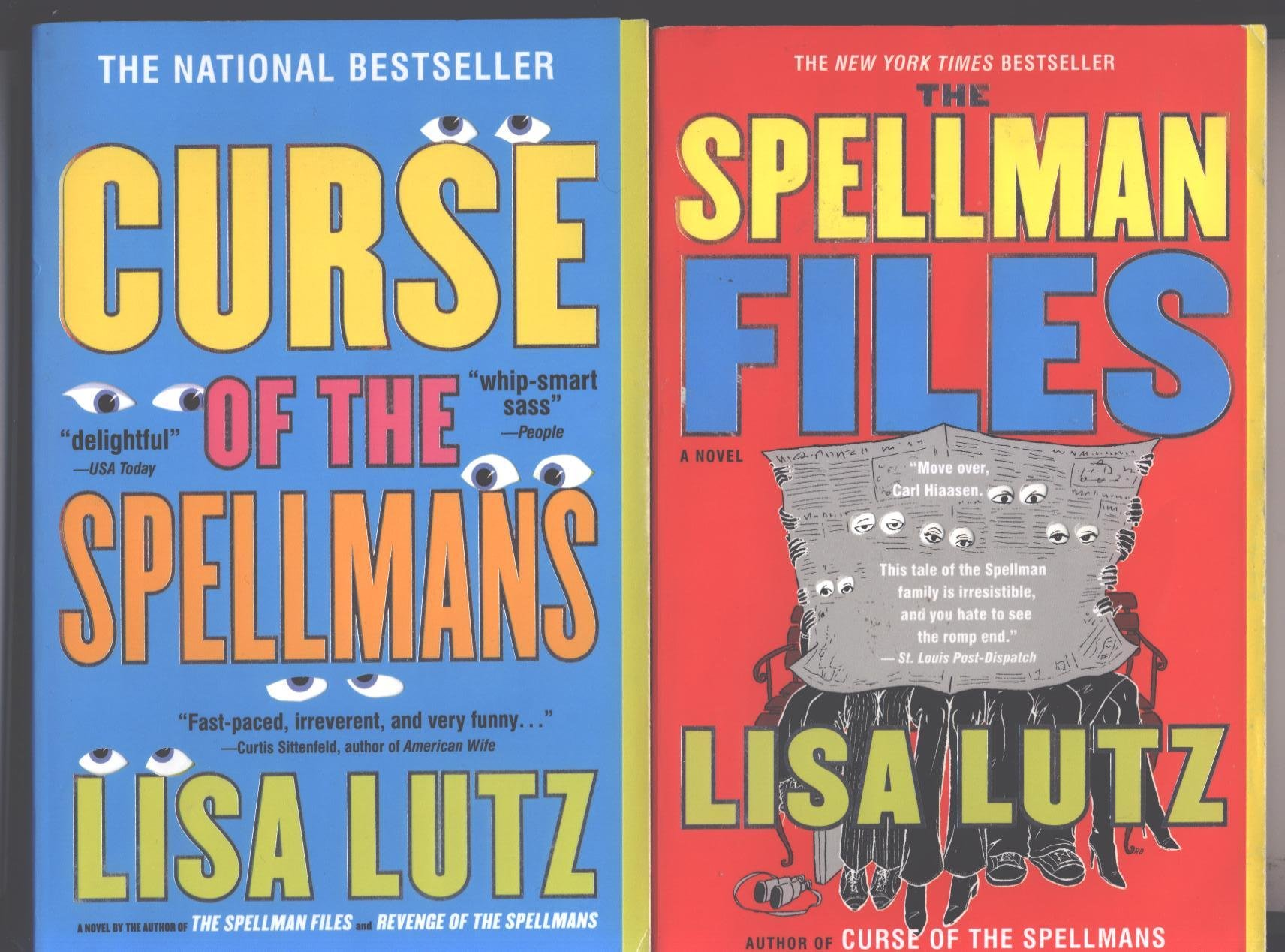 """Download Lisa Lutz 2 Books """"Curse of the Spellmans"""" and """"Spellman Files"""" ebook"""