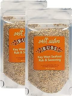 product image for Salt Sisters Gourmet Seasoning Mix, Flavor Key West Seafood Rub & Seasoning, 3 Ounces, 2 Pack