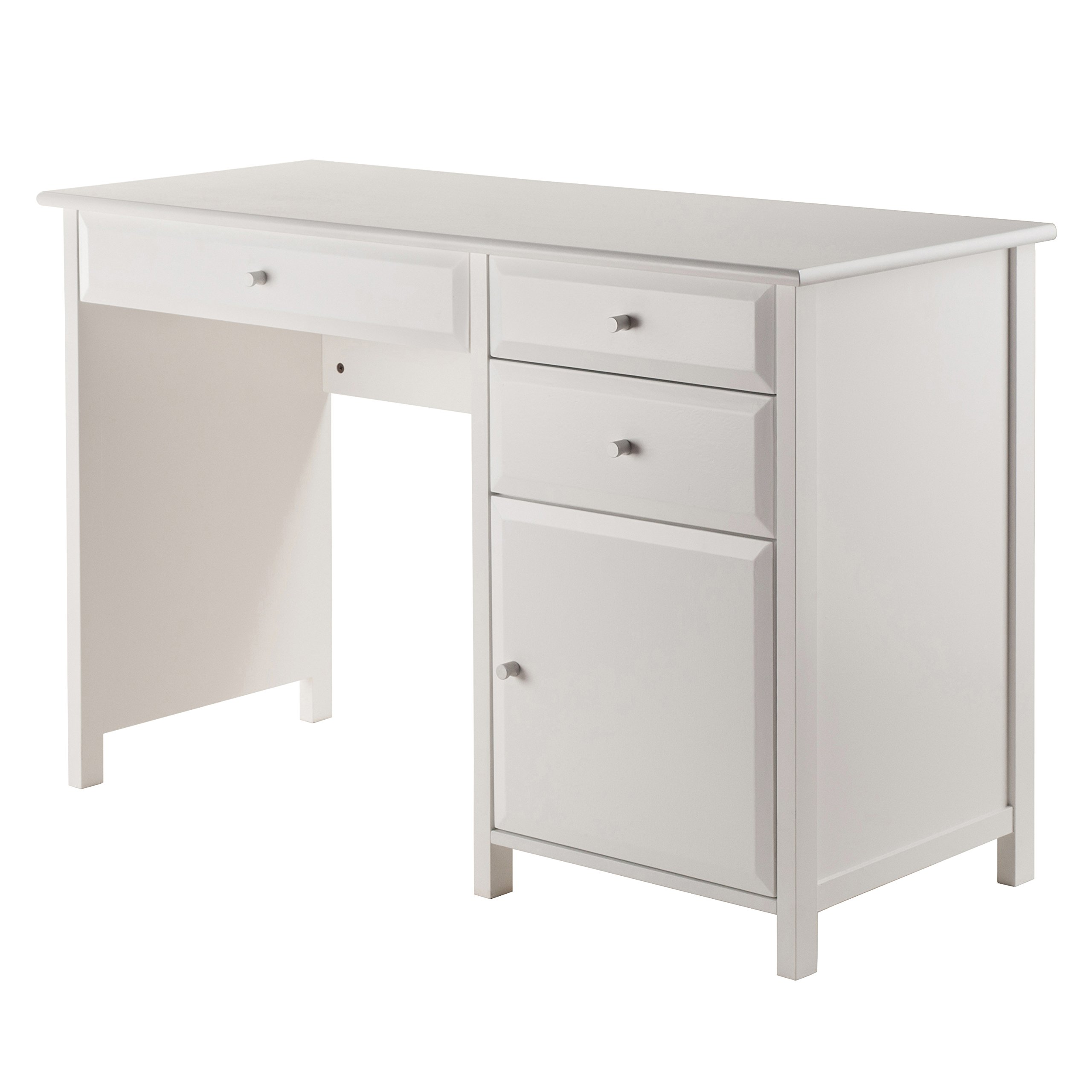 Winsome Wood 10147-WW Delta Home Office White by Winsome Wood